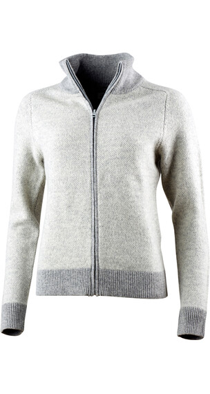 Lundhags Amsen Full Zip Women Light Grey